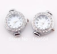 2013 New Rhinestone Quartz Watch Face Shamballa Watch Face Head Fit Shamballa Jewelry Watches Wholesale ZO06