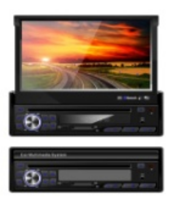 1 Din Car DVD built-in GPS with Radio TV Games Universal Universal(China (Mainland))