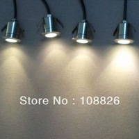 stain steel 110V 220V 230V Waterpoof  1W Mini LED step light , LED underground light/underwater light LED