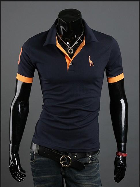 shipping 2013 New Mens T Shirt +Men's Short Sleeve T Shirt slim fit