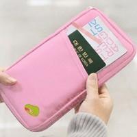 Purse Case Bag Fashion Travel  Passport Credit ID Card  Cash Holder  Organizer