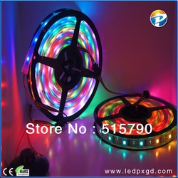 2013 Hot sales! High quanlity addressable digital led strip , LPD8806 5m led digital strip, 36LEDs/M waterproof Free shipping(China (Mainland))