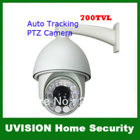 700TVL SONY EFFIO CCD 30x Outdoor CCTV PTZ IR Camera Auto Tracking Heater Fan 120M IR Distance With RS-485 DHL free shipping