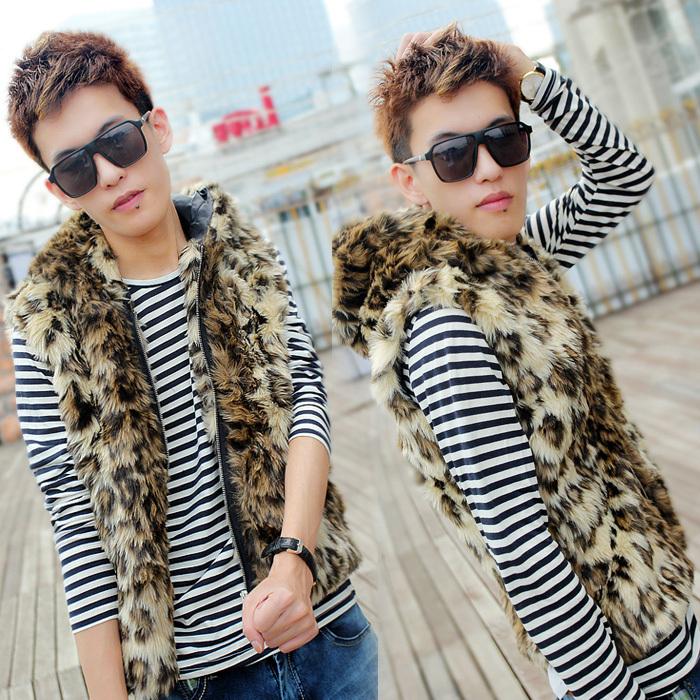 2013-top-selling-men-Cmh-autumn-and-winter-leopard-print-clothing-vest