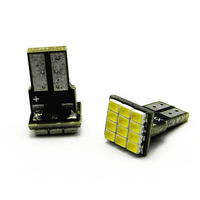 The W5W circuit board plug 3528 12 Light Automotive LED light show wide reading lights license light door light a small lamp