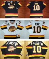 Wholesale-Free Shipping Cheapest CCM  Jersey  #10 Pavel Bure White Black