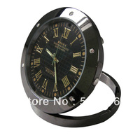 Free shipping High Definition Table Clock Camera Security Video Camera Webcam DVR Detection