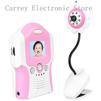 Wireless 2.4ghz Camera Voice Control Baby Monitor, 1.5Inch TFT LCD BRAND NEW 2.4GHz digital baby monitor 8008 Free shipping