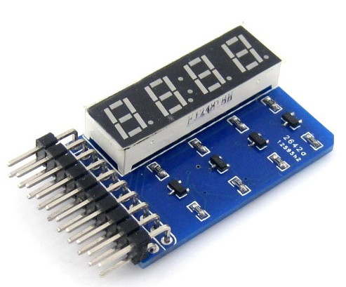 LED digital tube, digital tube display module, four bits 8 segment digital tube,seven segment digital tube,free shipping(China (Mainland))