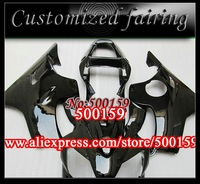 Customized fairing -NO1 all black bodywork FOR Honda / HONDA fairings CBR600F4i 01-03 CBR600 F4i 01 02 03 CBR 600 2001 2002 2003