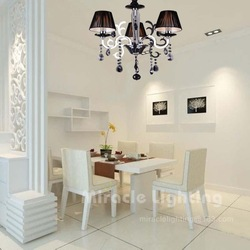 Fashion crystal pendant light dining room pendant light hall pendant light pendant light 28342 - 3(China (Mainland))