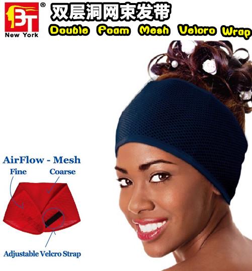 velcro wrap hair accessories as seen on tv headbands(China (Mainland