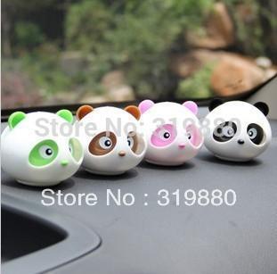 Free shipping auto supplies incense Panda fragrance perfume car seat car perfume seat