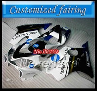 Customized fairing -KONICA bodywork FOR Honda / HONDA fairings CBR600F4i 01-03 CBR600 F4i 01 02 03 CBR 600 2001 2002 2003