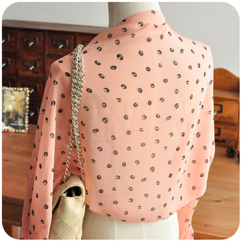 Min. Order $25 (mix order)  chiffon cape spring and autumn female long design lace scarf silk scarf cloak sunscreen