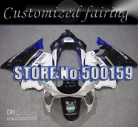 Customized fairing -Konica Injection / Compression molded fairing kit CBR 600 CBR600 F4 CBR600F4 99 00 1999 2000