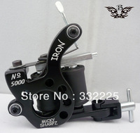 Professional Tattoo Machine   8 Wraps coil  1pc stainless steel tip free shipping  classic mikey gun