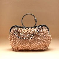 hot!  dinner banquet bag handmade beaded bag bridal bags portable