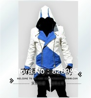 The assassins creed 3 connor coat jacket Cosplay clothing menswear   /Make to order