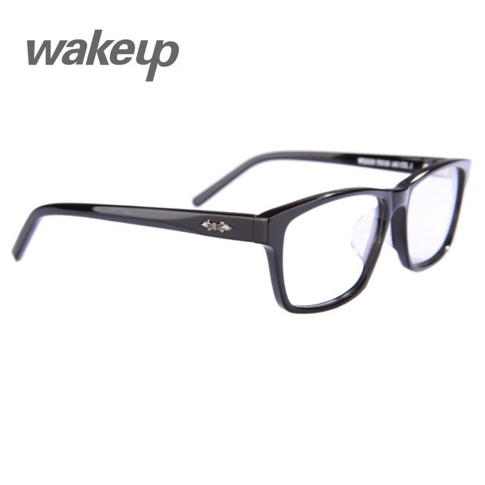 Big Frame Black Glasses : Wood-wakeup-w52009-xylonite-silver-big-black-eyeglasses ...