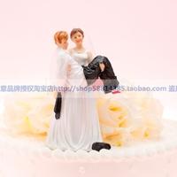 Sep sale Wedding Cake Topper  supplies wedding accessories cake decoration - groom