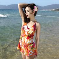 2012 women's skirt split 2 piece set swimwear 13001 female swimwear