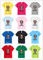 2013 New Female Cotton Girls T shirt Lady's Short Sleeve Shirts Women Tops Brand T-shirt Tee