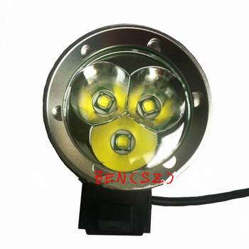 3T6 3x CREE XML XM-L T6 LED 4 mode 3800 Lumens Bike Bicycle Light Lamp HeadLamp 6400mAh Battery Free Shipping