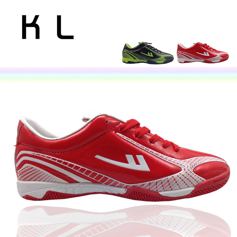 Wf3007 WARRIOR shoes new arrival Women rubber sole professional football shoes broken spikes training shoes(China (Mainland))