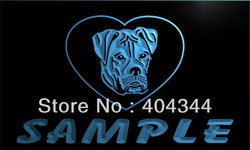 DZ081-TM Name Personalized Custom American Bulldog Dog House Home Neon Sign(3D Carving(Crystal Light Box(Free Shipping(Wholesale(China (Mainland))