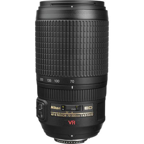 Nikon 70-300mm f/4.5-5.6G ED-IF AF-S VR Vibration Reduction Nikkor Lens Professional Dslr Lenses(China (Mainland))