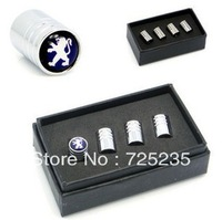 Wholesale Chrome Metal Wheel Tire Valve Caps Stem Air For Peugeot RCZ 508 408 307 #1 Free Shipping
