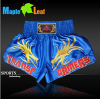 sanda men martial arts wear the training muay thai boxing shorts free shipping