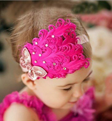 New arrival ,12 Design Feather and rhinestone headband, Baby Headbands, Photo Prop, Headband, Baby Bows(China (Mainland))