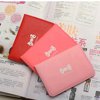 Free shipping Card holder large capacity women's bag bow card holder bus card sets