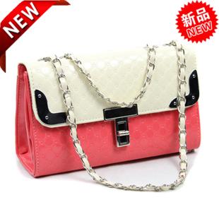 Free shipping Candy color chain small bags messenger bag mushroom bag messenger bag fashion handbag women's