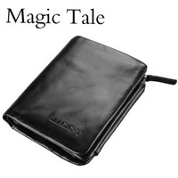 Magic Tale Free Shipping wholesale - totes cow layer leather wallet /leather purse Men wallet / Coin purse with ratail box