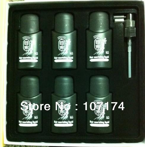 HK POST Arabic and English Original real result sunburst hair Nourishing Liquid 6 bottles 50ml(China