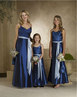 Free Shipping  M026 Off The Shoulder Sexy  V-Neck sleeveless with sashes Floor-length Bridesmad Dresses 2013