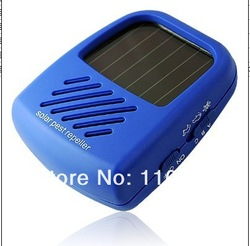 Solar Panel Sun Powered Rat Cockroaches Mosquito Pest Control Repellant Repeller free shipping(China (Mainland))