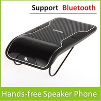 Car Hands-free SpeakerPhone Can Working With Any Bluetooth Enabled Devices Support Max 10M Wireless Distance Free Shipping