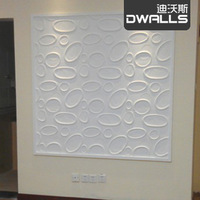 3d Plate embossed first door signage decoration 3d panels three-dimensional tv wallpaper sofa background 3d wall stickers
