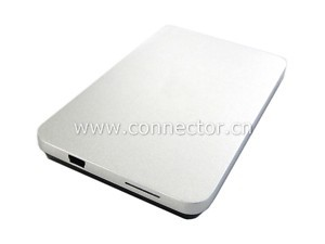 Silver USB 2.0 SATA 2 5 HD Hard Disk Drive Enclosure for & MAC&book Mac Air