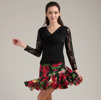 Latin dance skirt Latin dance practice skirt skirts trunk q114 Latin belt