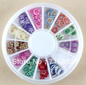 nuevo flawer 2013 fimo decoración de uñas