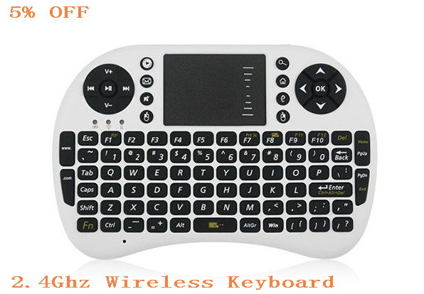 Portable Mini 2.4GHz 2.4G Wireless Keyboard with Touchpad for PC Pad Google Andriod TV .Mouse Combo New ,(China (Mainland))