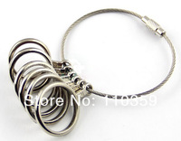2pcs/lot Ring Sizer Gauge Jewelers Finger Sizing Jewelry Tool 5 To 10 US Size Tool  free shipping