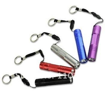 5 Pcs 1 Watt 1 AA LED Mini Flashlight Small Hand Torch