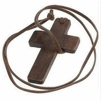 Free shipping, Accessories necklace simple personality wool medium-long cross necklace star female