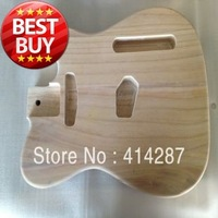 free shipping  nice ash wood telecaster guitar body for sale